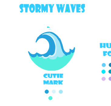 MLP FiM OC: Stormy Waves by Sonic-Tube