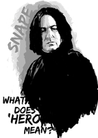 Snape by Mad42Sam