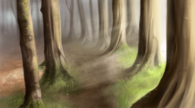 Ancient Woods by Eriin84