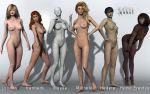 V4 Morphs and Mats for Genesis3! by pygfaust