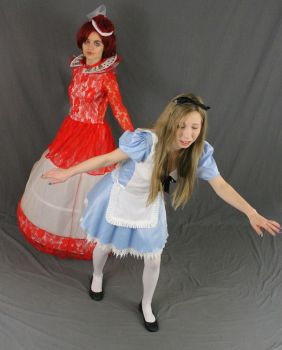 Alice and the red queen by MajesticStock