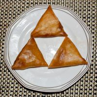 Triforce of Samosa by FU51ON