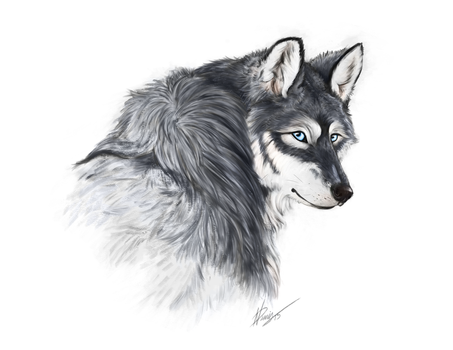 Wolfy 2015 by Wolfypaints