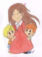 Mother 3 by LovelyKirbyGirly