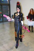 Bayonetta cosplay at convention by Daelyth