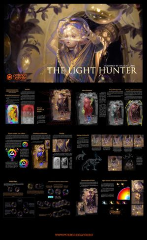 Preview - PAINTING: workshop [The Light Hunter] by oione