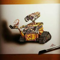 Wall-e by art-i-fexx
