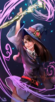 A believing heart is your magic by Naussi