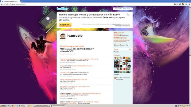 Background twitter year 2011 by cifra