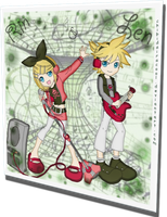 Rin x Len Band Practice by ChibiDairacool