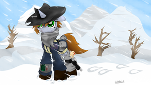 Fallout Equestria 2 - WinterPip by JetWave