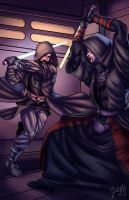 Jedi versus Sith by JosFouts
