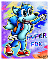 Hyper Fox by DragonRichard
