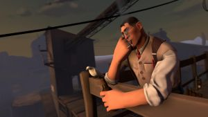 Just Medic and Archimedes [SFM] by Wojak1991