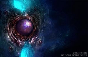 Azathoth Up Close by TentaclesandTeeth
