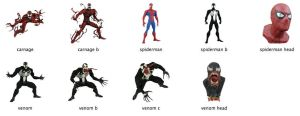 Spider-Man Icons by markdelete