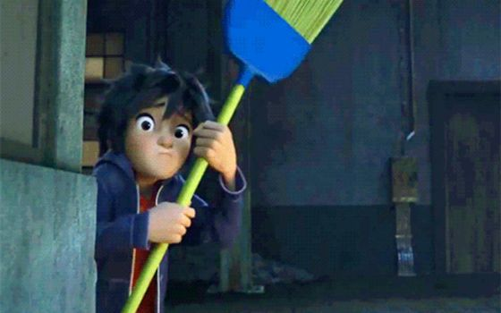 Me when I am Home Alone and Hear Something by Xx-Hiro-xX