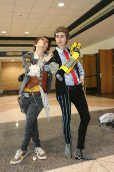 Metrocon 2016: Handsom Jack and Vaughn by pgw-Chaos