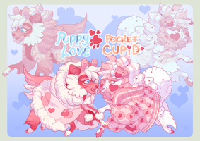 Valentines Poms GOULONG AUCTION! by lycchii