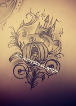 disney tattoo design by tattoosuzette