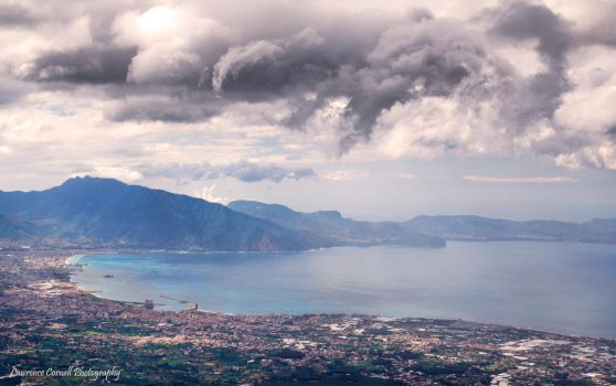 The view from a volcano by LordLJCornellPhotos