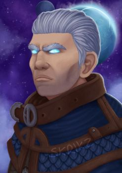 Archmage Khadgar by Skrikz
