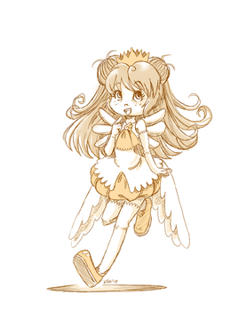 Patreon Request Sketch | Alice in CCS Costume! by tea-bug