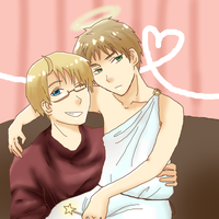USUK Miracles do happen! [Redraw] by whitekittyredhair