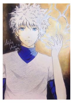KIllua Zoldyck  by Leuphy