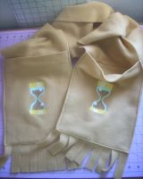Dr. Whooves Scarf by spotsandpatches