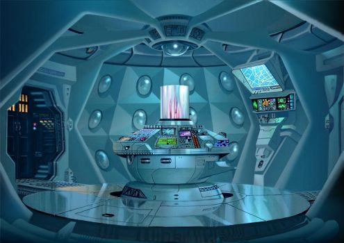 TARDIS 1990 by Harnois75