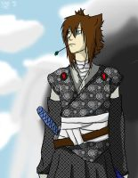 A Wondering Samurai by FallenWolfSpirit999