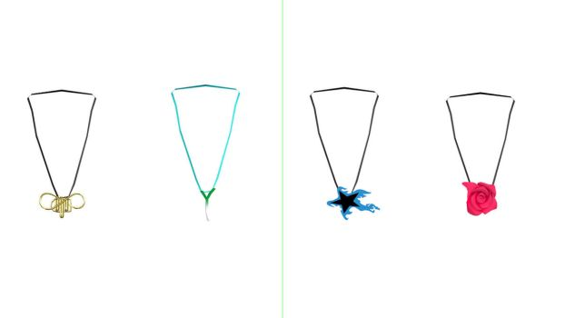 MMD Special Necklaces Pack DL by Pokeluver223