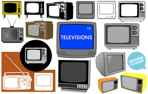 Vector Televisions 1 by mmolai