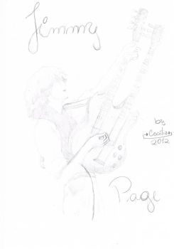 Jimmy Page by Ceh140