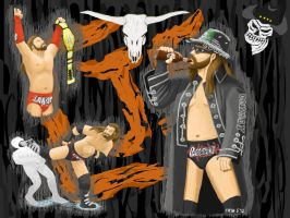 Tennessee Cowboy James Storm by MST3Claye