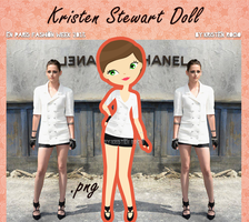 Kristen Stewart Doll (en Paris Fashion Week 2013) by RoohEditions