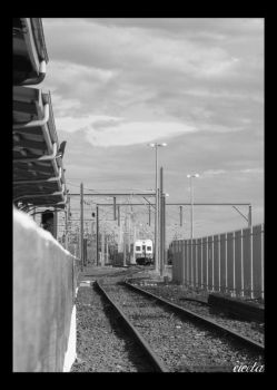 Wollongong Line South BW by dsx001