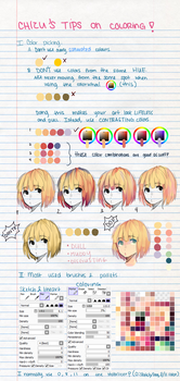 My Tips on Coloring! by ChiliChizu