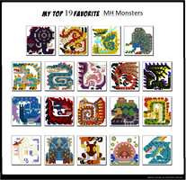 My Top 19 Favorite  MONSTER HUNTER  Monsters by Murlocoverlord