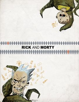 Rick and Morty by matthewethan