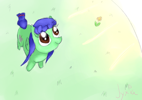 You did well, Blurie Grape by Jyxia