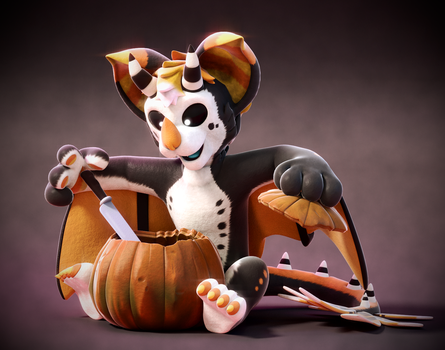 Commission: Carving time! by SmashingRenders