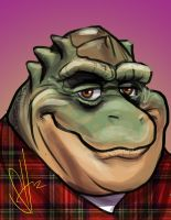 Earl Sinclair by scottssketches