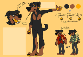 Rottie design for Vertifox by grotesqueGuts