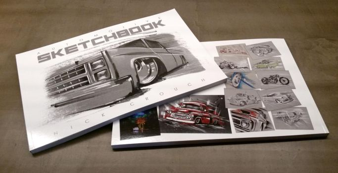 Automotive sketchbook by SurfaceNick