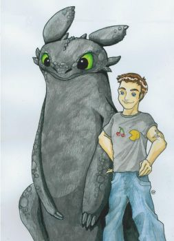 Toothless Al Colour by Chorizowagon