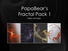 Abstract Brushes [FRACTAL P1] by PapaBearKC