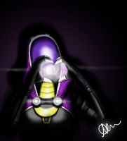 Tali needs love! by OneLoneMadman