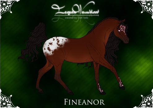 Imperial Stud - Group Horse: Fineanor by SweetLittleVampire